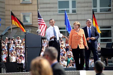 Obama's Germany visit 2013.