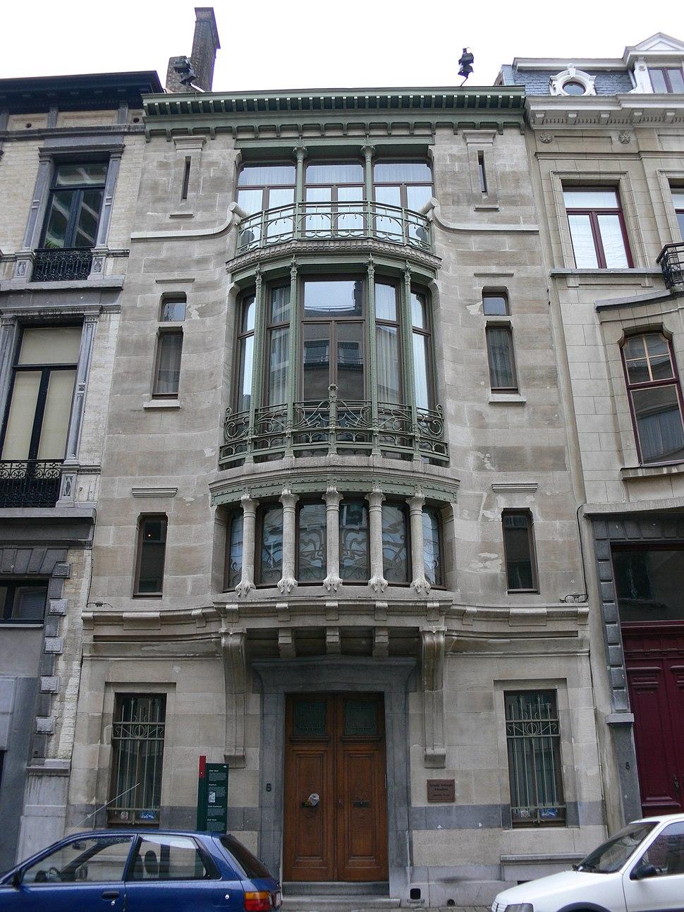 BE Bruxelles Horta Tassel