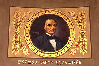 Retrat de Salvador Samà