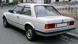 BMW 3 Series - E30 coupé