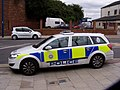BTP Vehicle outside Sandhill Station.jpg