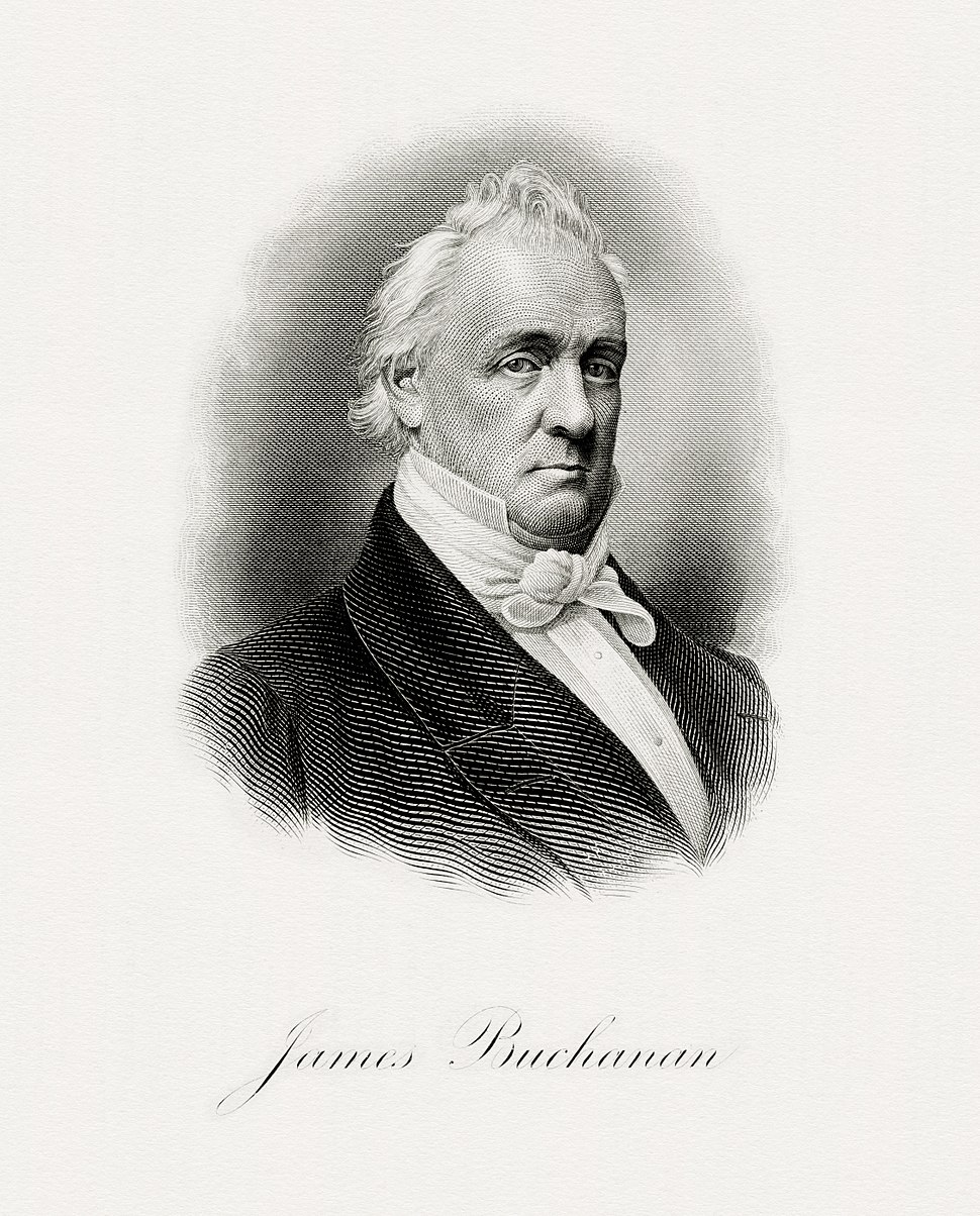 BUCHANAN, James-President (BEP engraved portrait)