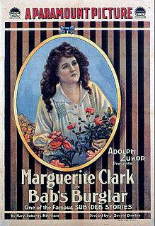 <i>Babs Burglar</i> 1917 film by J. Searle Dawley