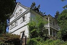 Brahms' Wohnhaus in Baden-Baden 1865–1874 (Quelle: Wikimedia)