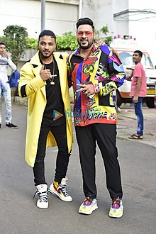 Badshah snapped on the sets of Dance India Dance.jpg