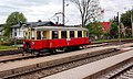 Bahnhof Bürmoos - Nostalgie-Waggon (2).jpg