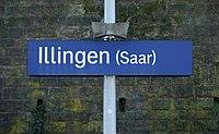 Bahnhofsschild Illingen (Saar) 2018-01.jpg