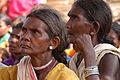 Baiga women attend meeting in Niwas Khar, India.jpg
