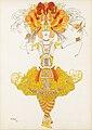 Bakst Costume design for L'Oiseau de feu 1922.jpg