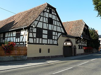 Baldenheim - An old half-timbered farmhouse from the 18th century