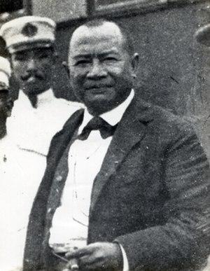 Baldomero Aguinaldo - Baldomero Aguinaldo in 1899