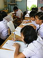 Ban Hat Suea Ten School in 9-2009 1.jpg
