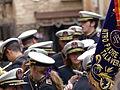 Banda, músicos, Coronación de la Virgen de la Estrella, Toledo, España, 2015.JPG