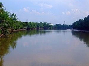 Bang Pakong River - Image: Bang Pakong River May 2010 01