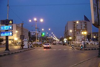 Benha City in Qalyubia, Egypt