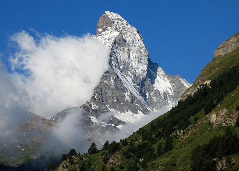 Banner Cloud formation on the Matterhorn