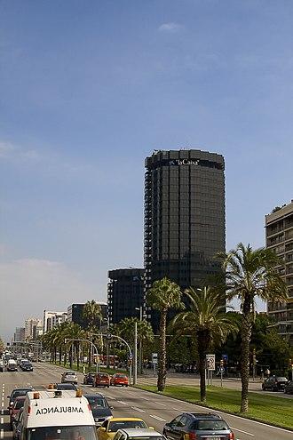 La Caixa - La Caixa Headquarters in Barcelona, Spain