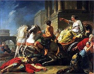 semi-legendary last queen of Rome