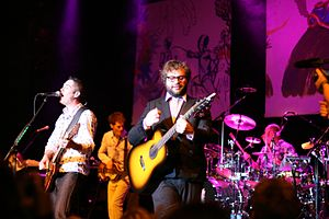Steven Page - Image: Barenaked Ladies performing on board Ships and Dip III cruise in 2008