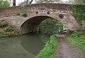 Barley Mow Bridge, Basingstoke Canal - geograph.org.uk - 1746690.jpg