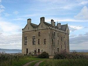 Barnbougle Castle - Barnbougle seen from the south west