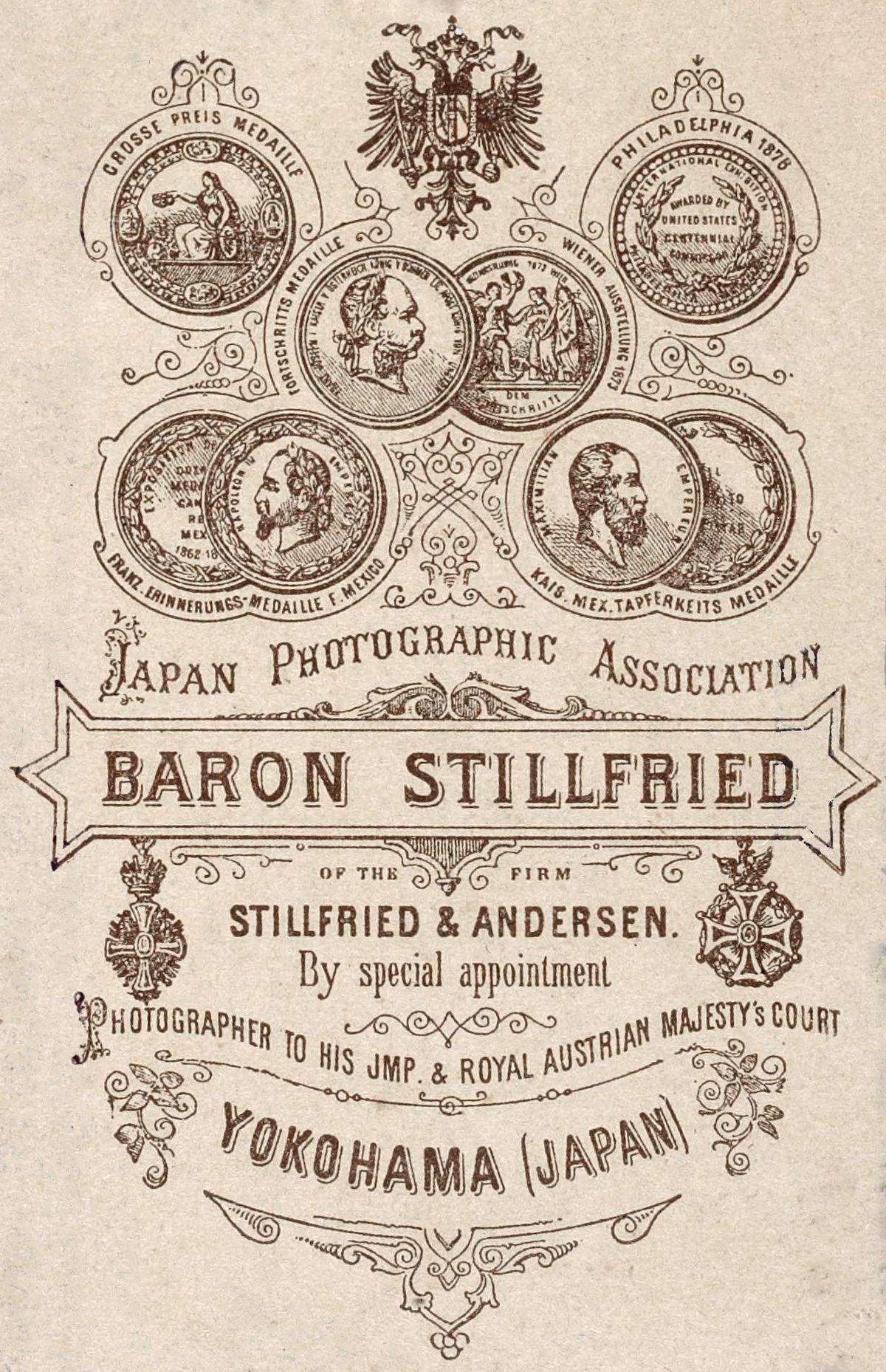 Baron Raimund Von Stillfried Wikipedia