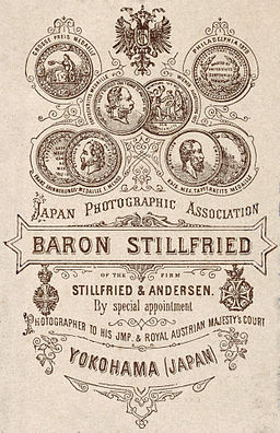 Baron Stillfried Verso 1883