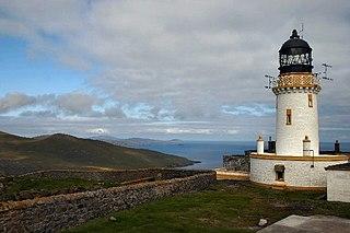 Barra Head Lighthouse lighthouse in Outer Hebrides, Scotland