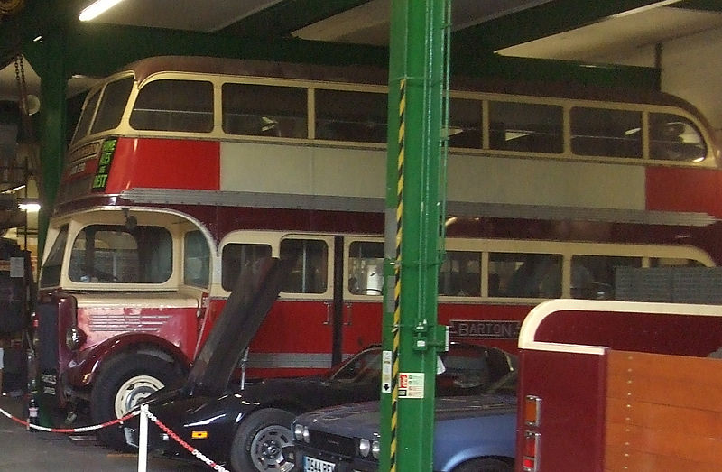 File:Barton Transport bus 507 (JVO 230) 1948 Leyland PD1A Duple lowbridge, Nottingham Transport Heritage Centre, 17 July 2008.jpg