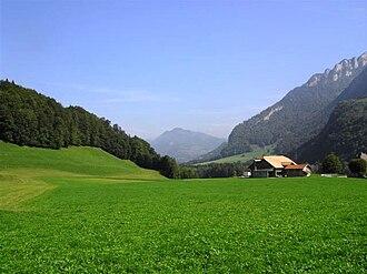 Bas-Intyamon - Landscape in Bas-Intyamon
