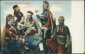 Bashi-bazouk - Bashi-bazouk Ottoman Postcard