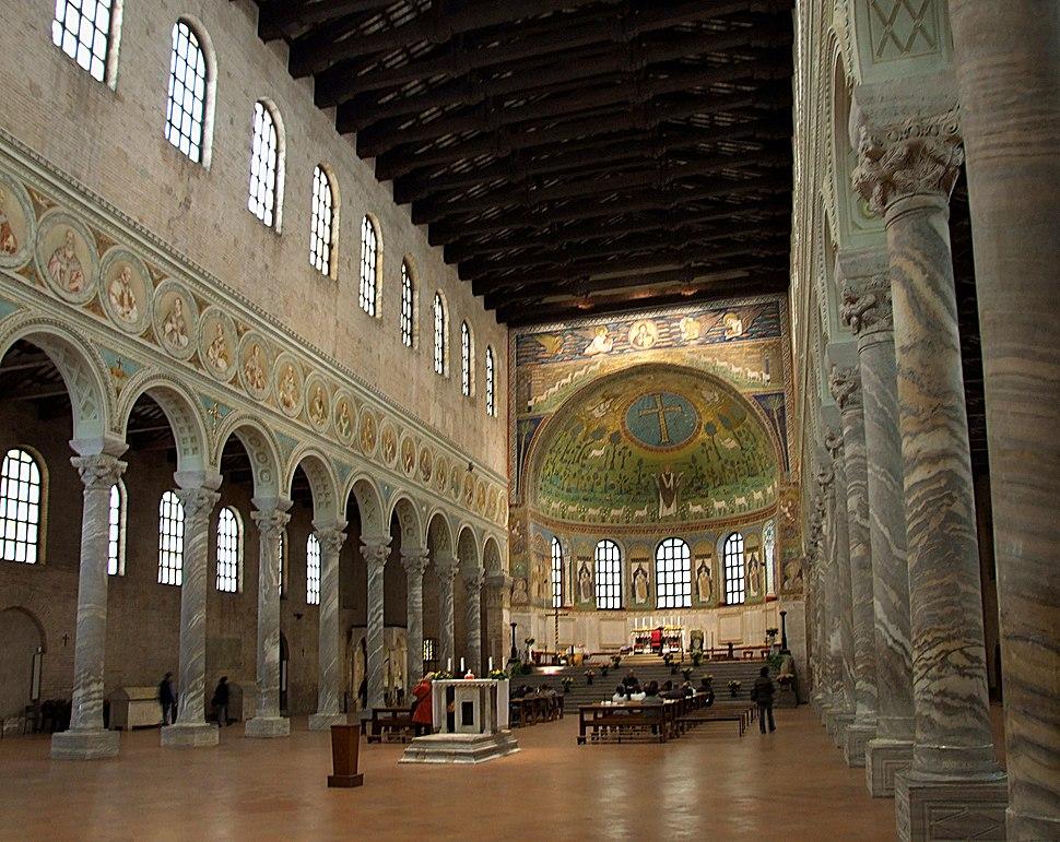 Basilica di Sant'Apollinare in Classe (interno)
