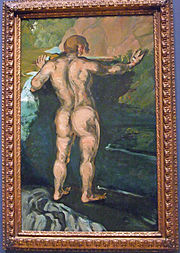 Bather and the Rocks (c.1860-1866) by Paul Cézanne.jpg
