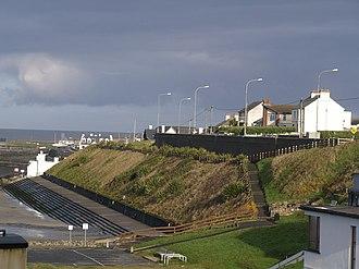 Enniscrone - Image: Bathing Terrace at Inishcrone geograph.org.uk 1054939