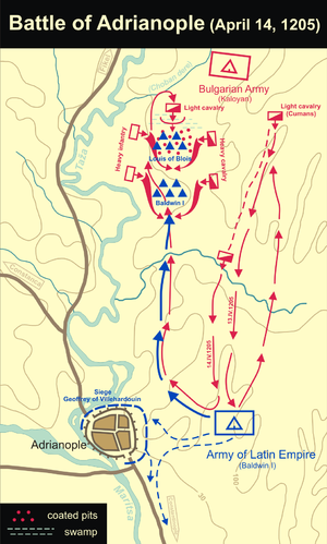 Battle of Adrianople (1205) - Image: Battle of Adrianople (1205)