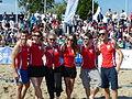 Beachvolleyball-Starcup-Team Verbotene Liebe.JPG