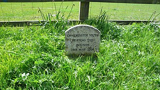 Parish (Church of England) - A parish boundary marker commemorating the ancient custom of Beating the bounds