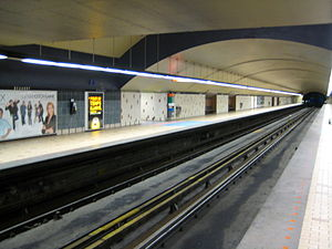 Beaudry station - Image: Beaudry Metro