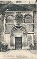 Beauvais-FR-60-CPA-église Saint Etienne-portail roman-01.jpg