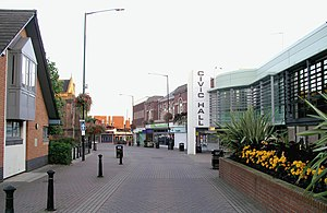 Bedworth town centre including the Civic Centr...