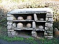Bee skeps at St Fagans - geograph.org.uk - 631964.jpg