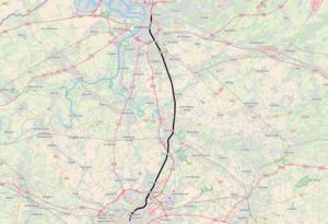 Belgian railway line 25 - Image: Belgian Railway Line 25