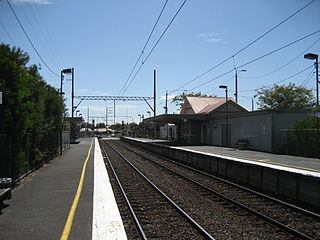 Bell railway station, Melbourne railway station in Preston, Melbourne, Victoria, Australia
