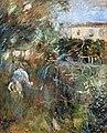 Bemberg Fondation Toulouse - Femme au jardin (Villa Arnulphi à Nice) - Berthe Morisot 1882 Inv.2113 56x33.jpg