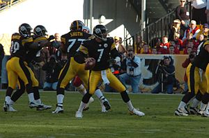 2006 Pittsburgh Steelers season - Roethlisberger in action against the Chiefs, October 15, 2006