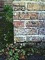 Benchmark on Dorchester Baptist Church aka Dorford Centre - geograph.org.uk - 2092083.jpg
