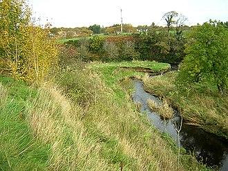 Rotten Calder - Bend on Calder Water at Langlands/Hurlawcrook