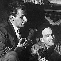 Bengt Eklund & Ingmar Bergman 1948.jpg