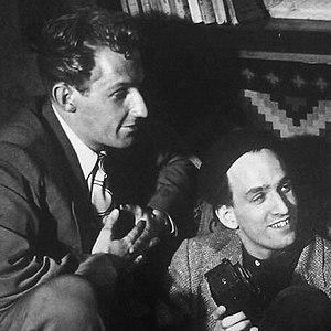 Bengt Eklund - Eklund and Ingmar Bergman, 1948.