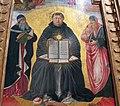 Benozzo gozzoli, trionfo di san tommaso d'aquino, da duomo di pisa, 1470-75 ca. 02.JPG